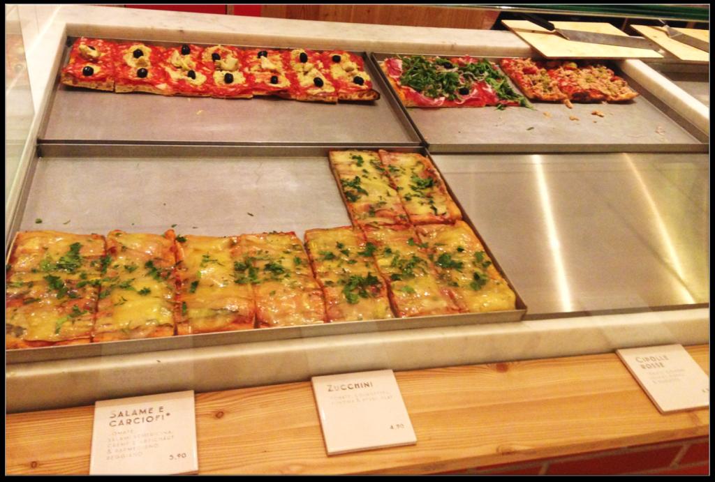bar à pizza Square Delicatessen
