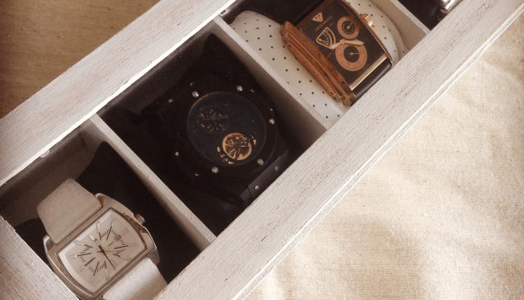 DIY boite montres
