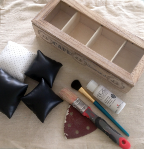 matériel pour la création d'une boite à montres