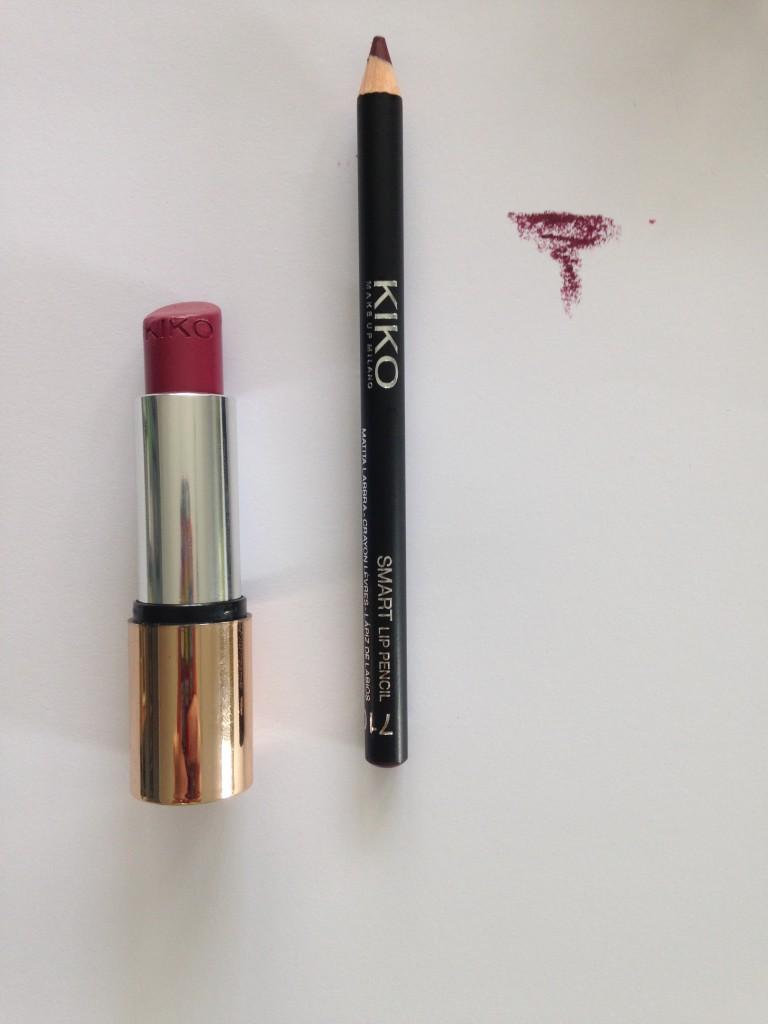 crayon rouge à lèvres kiko