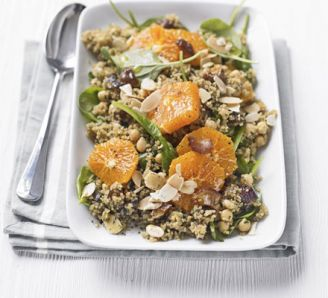salade boullgour et clementines