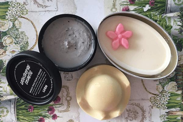 Test de la semaine : produits cosmétiques vegan de la marque Lush