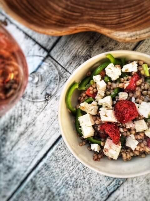 salade ete vegetarienne sarrasin