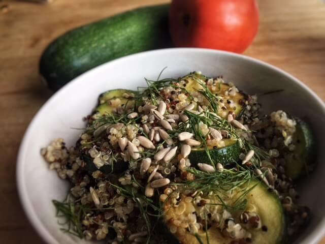 salade ete vegetarienne courgette